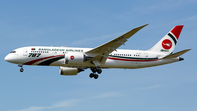 S2-AJS - Boeing 787-8 Dreamliner - Biman Bangladesh Airlines