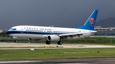A picture of B5113 - Boeing 73781B - China Southern Airlines - © XPHNGB