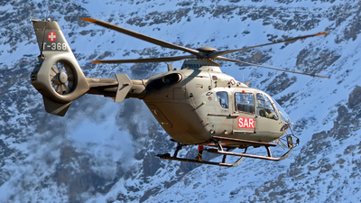 T-368 - Eurocopter EC 635P2+ - Switzerland - Air Force