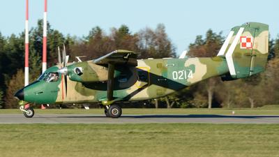 0214 - PZL-Mielec M-28TD Bryza - Poland - Air Force