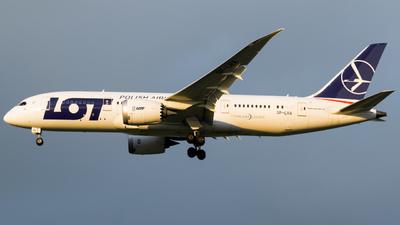 A picture of SPLRA - Boeing 7878 Dreamliner - LOT - © Damian Maciejak