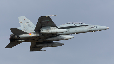 CE.15-09 - McDonnell Douglas EF-18BM Hornet - Spain - Air Force