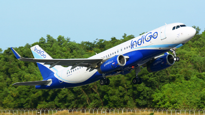 A picture of VTIFP - Airbus A320232 - IndiGo - © jeremy denton