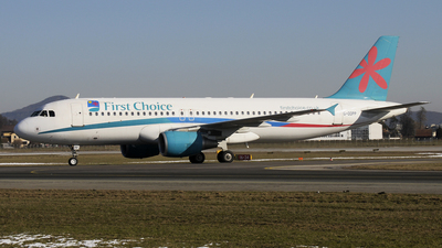 G-OOPP - Airbus A320-214 - First Choice Airways