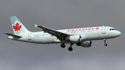 C-FKCK - Airbus A320-211 - Air Canada