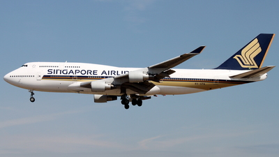 9V-SPN - Boeing 747-412 - Singapore Airlines