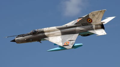 6203 - Mikoyan-Gurevich MiG-21MF Lancer C - Romania - Air Force