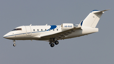 A6-RAS - Bombardier CL-600-2B16 Challenger 604 - Private