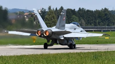 J-5019 - McDonnell Douglas F/A-18C Hornet - Switzerland - Air Force