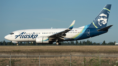 A picture of N611AS - Boeing 737790 - Alaska Airlines - © Nick Michaud