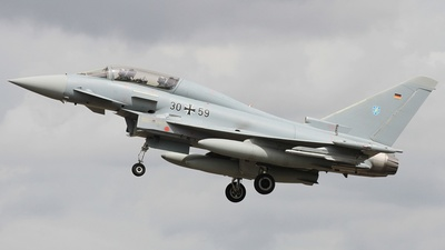 30-59 - Eurofighter Typhoon EF2000(T) - Germany - Air Force