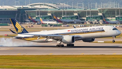 9V-SHB - Airbus A350-941 - Singapore Airlines
