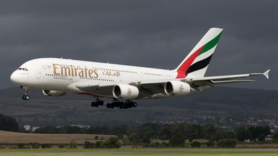 A picture of A6EEF - Airbus A380861 - Emirates - © Rolf Jonsen