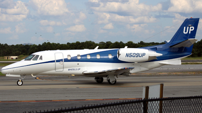 N509UP - Cessna 560XL Citation Excel - Wheels Up
