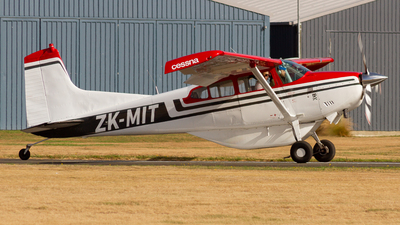 ZK-MIT - Cessna 185A Skywagon - Adventure Flights Golden Bay
