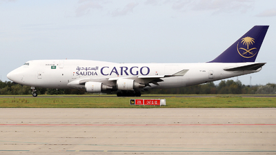 TF-AMA - Boeing 747-45E(BDSF) - Saudi Arabian Airlines Cargo (Air Atlanta Icelandic)
