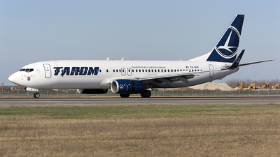 A picture of YRBGK - Boeing 73782R - Tarom - © Mihai Cioponea