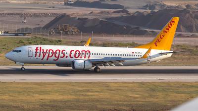 TC-CCJ - Boeing 737-82R - Pegasus Airlines