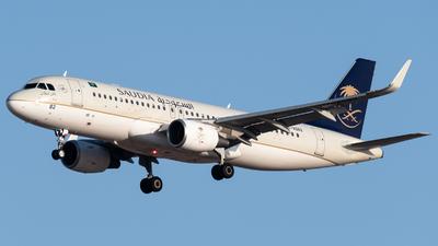 HZ-AS82 - Airbus A320-214 - Saudi Arabian Airlines