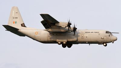 KC-3812 - Lockheed Martin C-130J-30 Hercules - India - Air Force