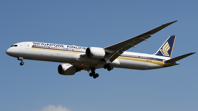 9V-SCO - Boeing 787-10 Dreamliner - Singapore Airlines