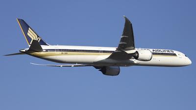 9V-SCK - Boeing 787-10 Dreamliner - Singapore Airlines