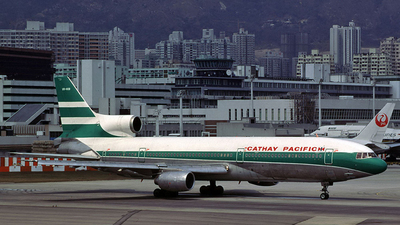 VR-HOB - Lockheed L-1011-1 Tristar - Cathay Pacific Airways