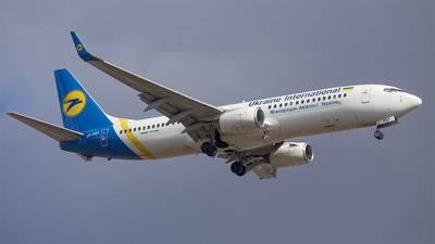 A picture of URPSY - Boeing 7378EH - Ukraine Int. Airlines - © Denis Kuzmenko