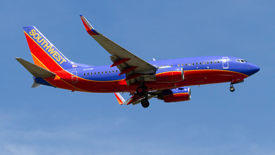 N7701B - Boeing 737-76N - Southwest Airlines