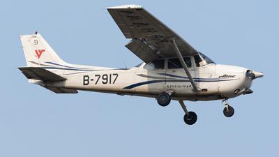 B-7917 - Cessna 172R Skyhawk - Civil Aviation Flight University of China