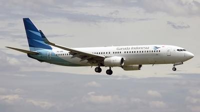 PK-GNG - Boeing 737-8U3 - Garuda Indonesia