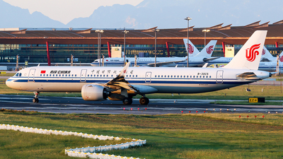 A picture of B30C5 - Airbus A321271N - Air China - © YangZhang