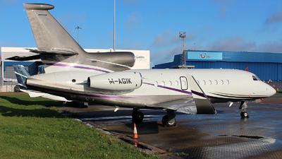 M-AGIK - Dassault Falcon 900EX - Private