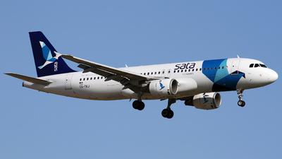 CS-TKJ - Airbus A320-212 - SATA International