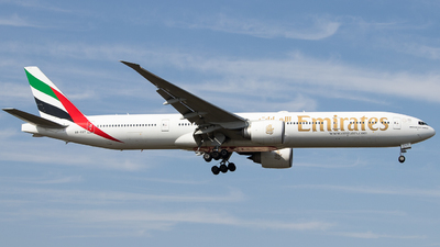 A picture of A6ECT - Boeing 77731H(ER) - Emirates - © Guillem Rubio