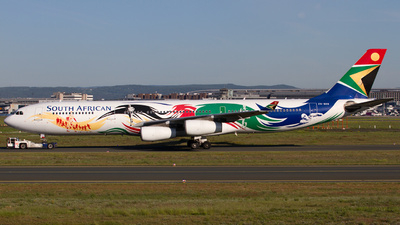 ZS-SXD - Airbus A340-313E - South African Airways