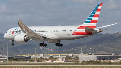 N810AN - Boeing 787-8 Dreamliner - American Airlines