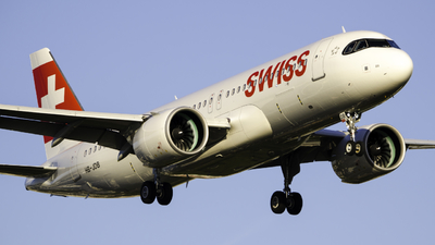 A picture of HBJDB - Airbus A320271N - Swiss - © Theo Möhle