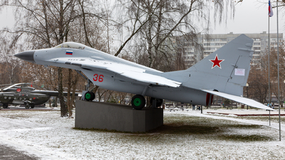 36 - Mikoyan-Gurevich MiG-29 Fulcrum - Russia - Air Force