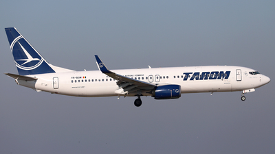 YR-BGM - Boeing 737-8H6 - Tarom - Romanian Air Transport
