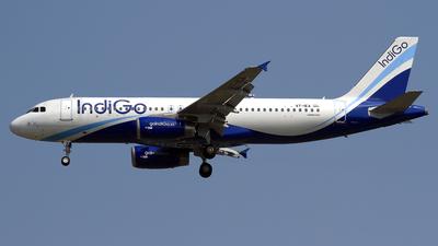 VT-IEA - Airbus A320-232 - IndiGo Airlines