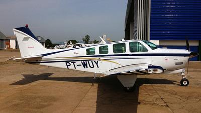 PT-WUY - Beechcraft A36 Bonanza - Private