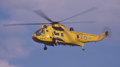 XZ589 - Westland Sea King HAR.3 - United Kingdom - Royal Air Force (RAF)