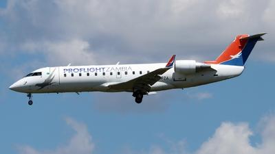 9J-PZA - Bombardier CRJ-100ER - Proflight Zambia