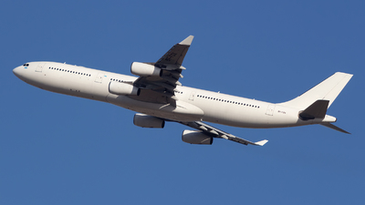 A picture of 9HFOX - Airbus A340313 - Hi Fly - © Jun You