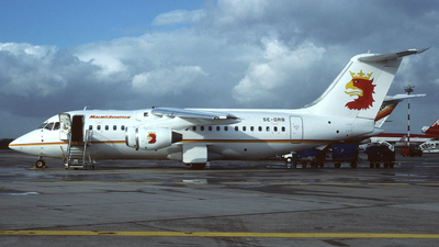 SE-DRB - British Aerospace BAe 146-200A - Malmö Aviation