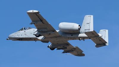 81-0980 - Fairchild A-10C Thunderbolt II - United States - US Air Force (USAF)