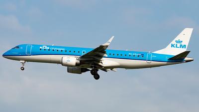 A picture of PHEZU - Embraer E190STD - KLM - © Kyan Rossignol