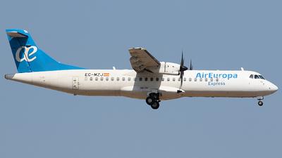 EC-MZJ - ATR 72-212A(500) - Air Europa Express