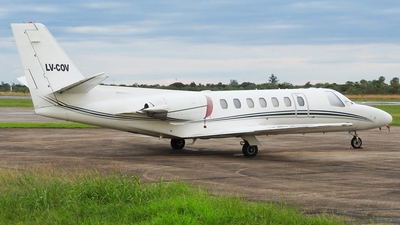 LV-COV - Cessna 560 Citation V - Private